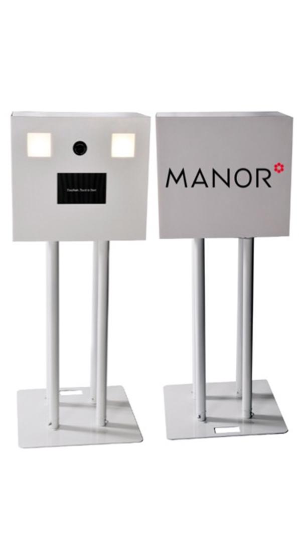 Manor a fait confiance à Easyflash pour la location de Photobooth