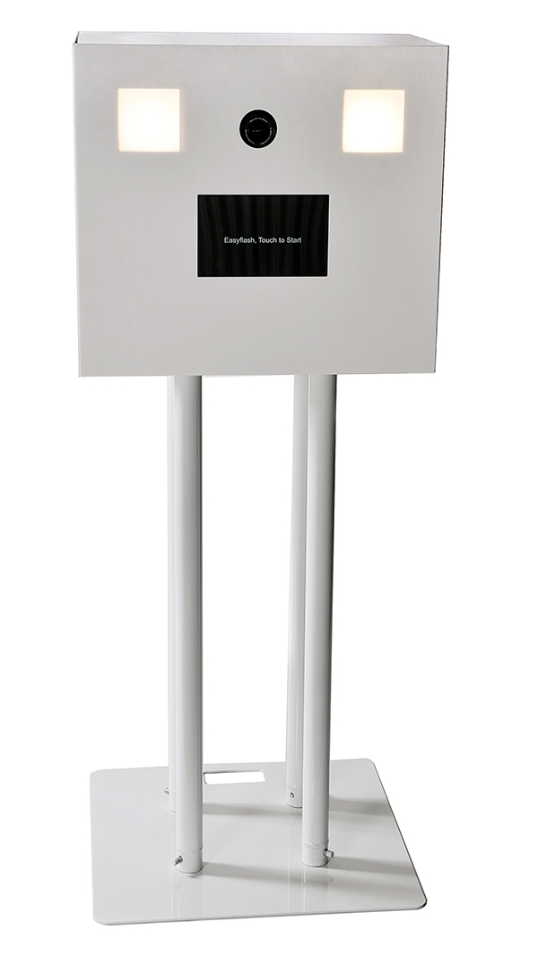 Location Photomaton blanc proposé par Easyflash
